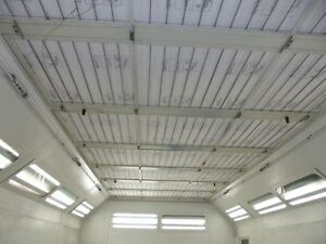 600ht Spray Paint Booth Ceiling Filter Global Finishing Gfs 64 X 149 Set 4