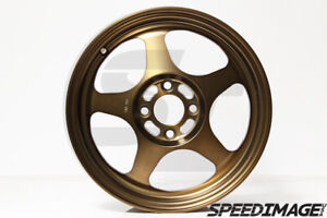 Rota Slipstream Wheels 15x6 5 40 4x100 Sport Bronze Honda Civic Xa Xb Rims