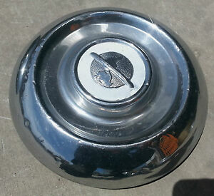 1957 Oldsmobile Baby Moon Hub Cap Center Classic Dog Dish Hubcap 50s 57 50 5 Oem