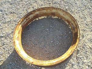 John Deere A B Tractor Original Rear Jd Press Steel 8 X 38 Rim For Tire To Hub