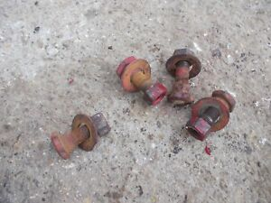 4 Farmall 300 400 450 350 Tractor Ih Eccentric Style Seat Mounting Mount Bolts