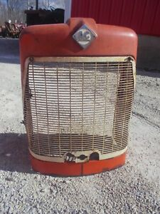 Allis Chalmers D15 Tractor Excl Orgnal Factory Ac Front Nose Cone Grille Bonnet