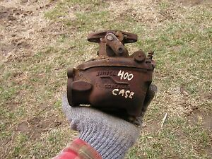 Case 400 Tractor Marvel Schebler Carburetor Off Of A Running Case Tractor