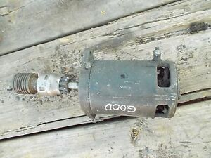 Case 530 Ford Massy Harris Tractor Working Engine Motor Starter Assembly