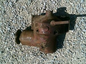 1939 Farmall H Tractor Ih Ihc Belt Pulley Drive Assembly Rare Hard To Find