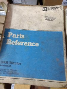 Caterpillar D9h Tractor Powershift Parts Reference
