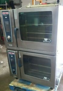 Double Rational Scc We 62 Electric Combi Oven 208 3 Ph Free Shipping