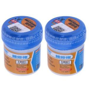 2pcs Mechanic Solder Soldering Flux Welding Paste Xg 50 Bga Smt For Soldering
