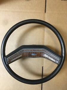 80 86 Ford Pickup Truck Factory Simulated Leather Steering Wheel