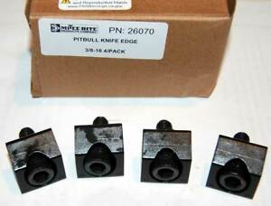 4 Pcs Mitee bite 400 x3 8 16 Workholding Pitbull Clamps holding Force 6 000lbs