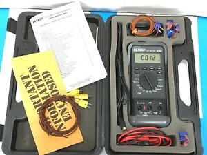 Extech 380250 True Rms Power Digital Multimeter Handheld Excellent