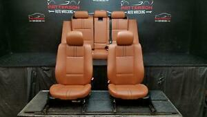 2006 Bmw X3 Front Rear Leather Seats Terracotta Interior Trim Code Az