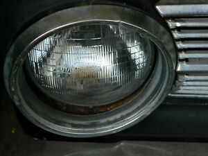 1963 1965 Plymouth Valiant Headlight Buckets With Bezels L Left R Right Set