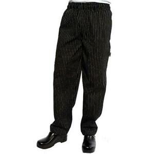 Chef Works Pinb xs Pinstripe Designer Chef Pants xs