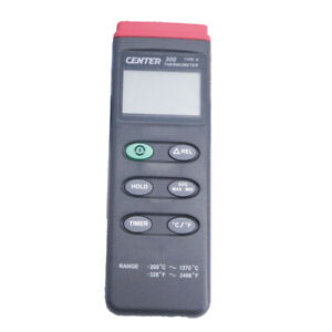Center 300 Digital Thermometer Temperature Recorder Measuring Range 200c 1370c