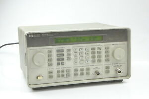 Hp 8647a Synthesized Signal Generator 250 Khz 1000 Mhz H03 6