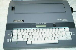 Smith Corona Electronic Typewriter Portable Spell Right Dictionary Model Sd 265