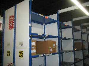 Equipto V grip Clip Type Closed Style Shelving 36 Inch X 24 Inch X 8 Feet