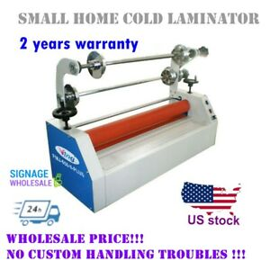 Usa 110v 26 Semi Auto Small Home Electric Business Card Cold Laminator