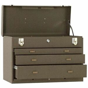Kennedy 620b 3 drawer Machinist Chest Brown