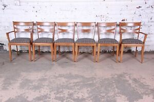 Heywood Wakefield Mid Century Modern Dining Chairs Set Of 6