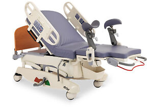 Stryker Birth Bed Hospital Birthing With Patented Skoocher Ld304 Side Control