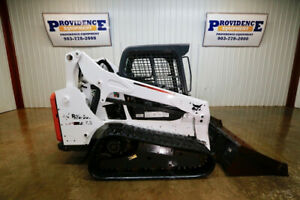 2015 Bobcat T590 Skid Steer Track Loader Open Rops High Flow Pilot Controls