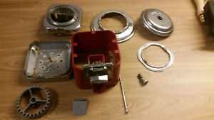 Beaver Gumball Vending Machine Parts Almost Complete No Globe Older Metal Parts