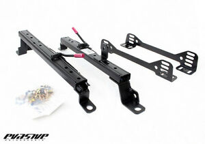 Evs Tuning Low Position Side Mount Seat Rail For Mitsubishi Evo X left