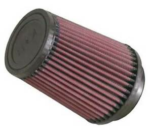 K n Ru 5111 Universal Air Filter Cone 3 Inlet 5 75 Height Round Tapered Gauze