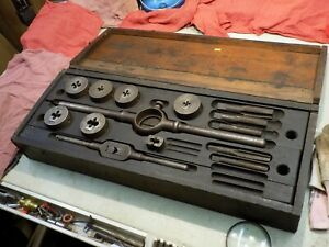 Wells Brothers greenfield Tap Die No 40 Little Giant Tap And Die Set
