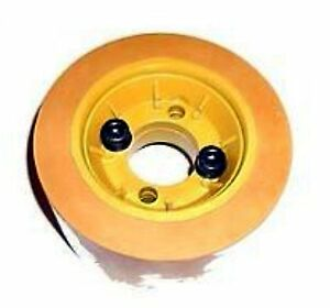 Accura Apff 120u Comatic No Ro120a Urethane Power Feeder Hub tire Assembly