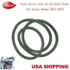 Car Body Side Weatherstrip Seal Rubber Fr L For Chevrolet Cruze Sedan 2011 2015