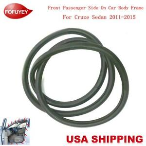 Car Body Side Weatherstrip Seal Rubber Fr R For Chevrolet Cruze Sedan 2011 2015