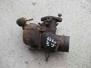 Allis Chalmers Wd45 Wd 45 Tractor Carburetor Assembly Ac