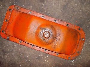 Allis Chalmers C Tractor Original Ac Real Nice Engine Oil Pan Drain Plug
