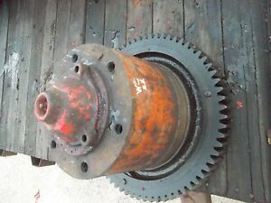 Allis Chalmers Styled Wc Main Rear Transmission Drive Axle Ac Bowl R Drive Gear