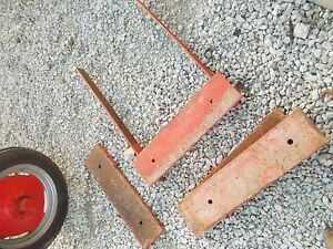 Allis Chalmers Wd Wd45 45 Tractor Front Weight Bar Slab Pad Weights Weight