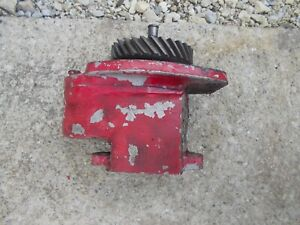 Farmall 400 450 Ih Ihc Tractor Good Live Hydraulic Pump Good Drive Gear