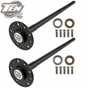 Ten Factory Mg22101 Performance Axle Kit Fits 68 81 Camaro Chevelle El Camino