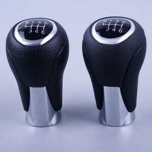 Fit For Mazda 3 Cx 5 Leather 6 Speed Manual Transmission Gear Stick Shift Knob