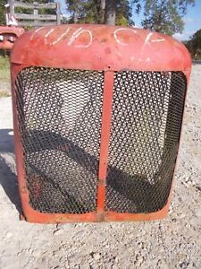 Allis Chalmers Wd Wd45 45 Tractor Ac Ac Front Nose Cone Grill Screen Cover