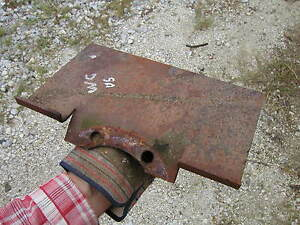 Unstyled Allis Chalmers Wc Ac Tractor Step Mounting Bracket