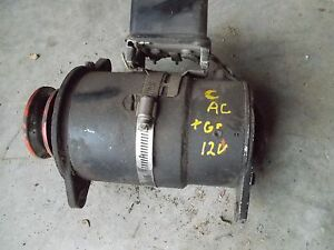 Allis Chalmers C Tractor Good Working 12v Generator W Belt Pulley