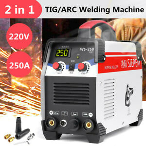 2 In 1 Tig Stick arc Inverter Welding Machine Ac Dc 250a Tig mma Welder 220v
