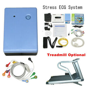Contec8000s Wireless Exercise Stress Ecg Analysis System Machine Pc Software New