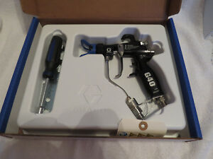 Brand New Graco 24c855 Hvlp G40 Flat Face Air Assisted Paint Spray Gun Oem