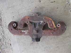 Allis Chalmers Wd45 Wd 45 Tractor Gleaner Combine Engine Motor Exhaust Manifold