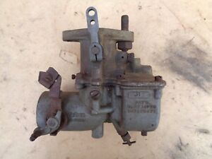 Vintage Tillotson Carburetor Jr2 Original Chrysler Dodge Desoto Hupmobile Hudson