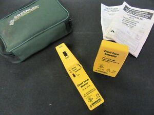 Greenlee 2012 Circuit Tester Tracer Transmitter And Receiver